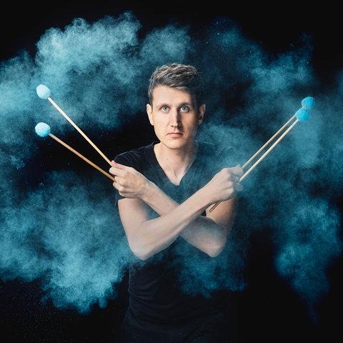 Perkussionist Alexej Gerassimez
