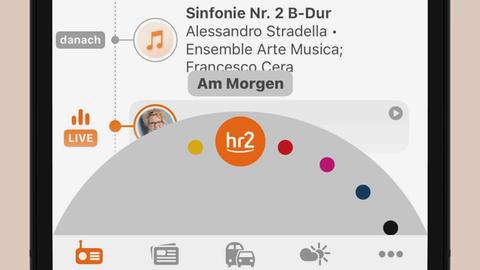 Wellen-Wechsel in der hr2-App