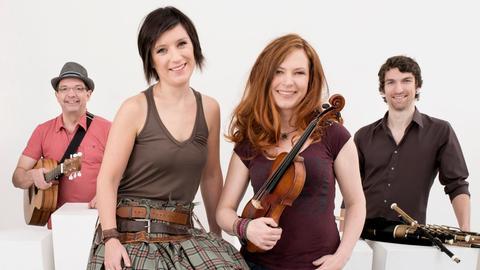 Das deutsch-schottische Quartett Cara