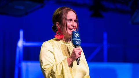 Catherine Mundt bei der ARD Radionacht der Bücher 2020