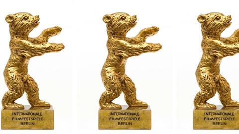 Goldene Bären in Formation