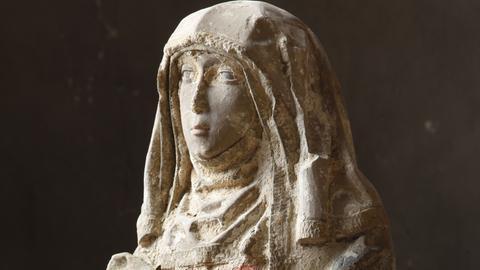 Maria aus den Grabungsfunden von St. Leonhard