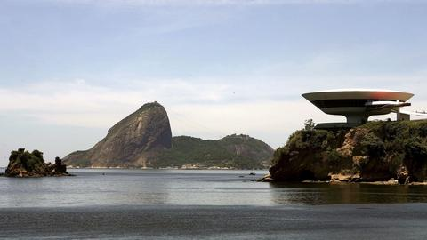 Museu de Arte Contemporânea de Niterói, Brasilien