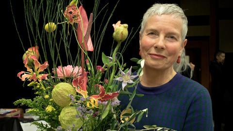 Ruth Fühner beim Abschied von den Kollegen