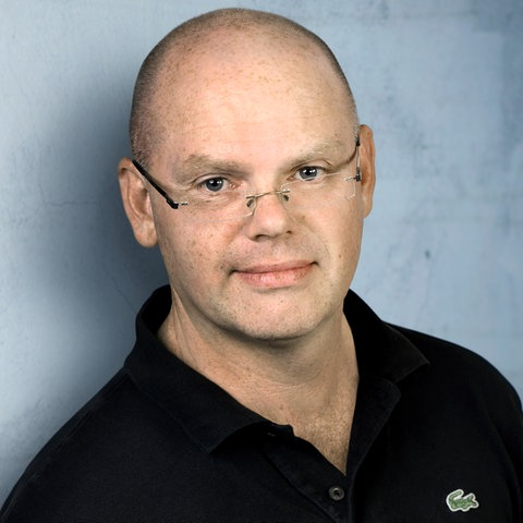 hr2-Moderator Stefan Fricke