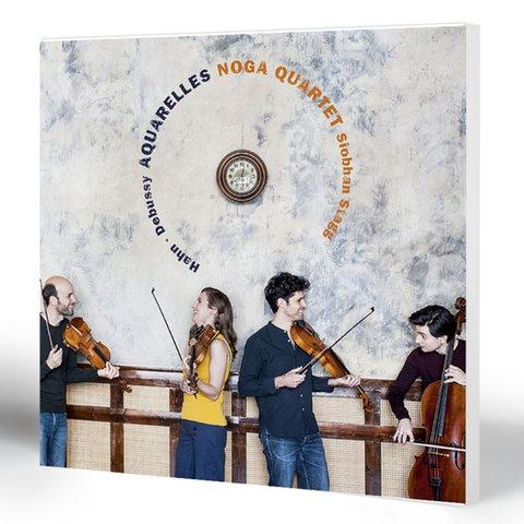 Siobhan Stagg, Noga Quartet: Aquarelles – Noga Quartet (Klassik)