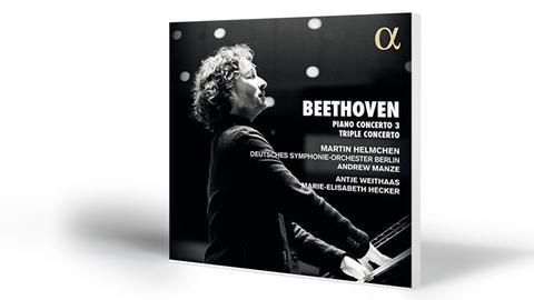 Beethoven: Tripelkonzert op. 56 / Klavierkonzert Nr. 3 | Helmchen-Weithaas-Hecker. Dt. Symphonie-Orch.-Manze