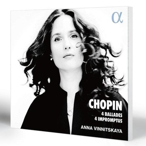 Chopin: 4 Ballades - 4 Impromptus   Anna Vinnitskaya