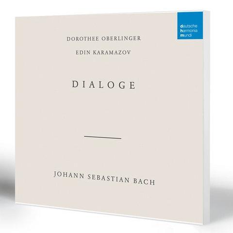Dialoge – Johann Sebastian Bach   Dorothee Oberlinger (Blockflöte) & Edin Karamazov (Laute)