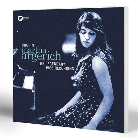 Martha Argerich - Chopin | The Legendary 1965 Recording