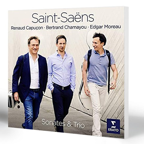 Saint-Saëns: Sonaten und Trio   Capuçon, Moreau und Chamayou