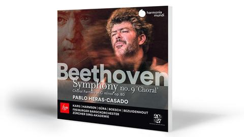 Beethoven: Symphonie Nr. 9 + Chorfantasie op. 80 | Karg-Harmsen-Güra-Boesch. Bezuidenhout-Zürcher Sing-Akademie-Freiburger Barockorchester-Heras-Casado