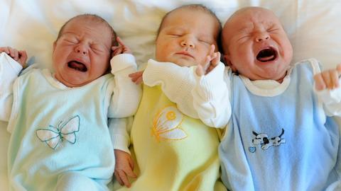 Schreiende Babys