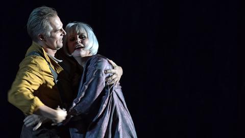 Dmitry Golovnin (Sergei) und Anja Kampe (Katerina Ismailowa)
