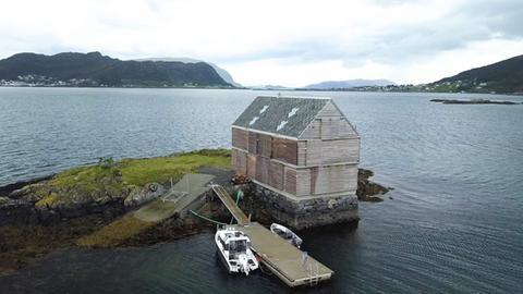 Norwegen: Wochenendhaus nach Entwürfen des Architekten Knut Heltnjnes