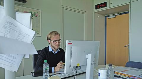 Christian Zimmermann beim hr2-Mitmachtag
