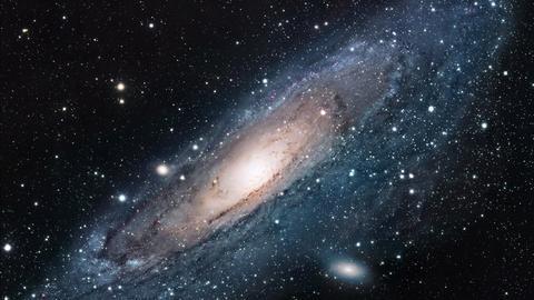 Andromedanebel Sterne Weltall