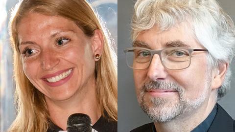 Anna Vinatzer und Georg Schwikart