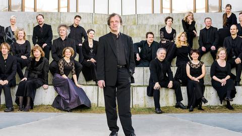 Das  Concerto Copenhagen mit Lars Ulrik Mortensen