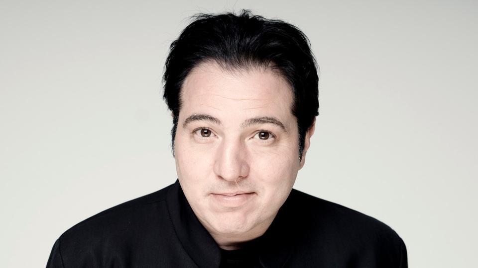 Der türkische Komponist und Pianist Fazil Say