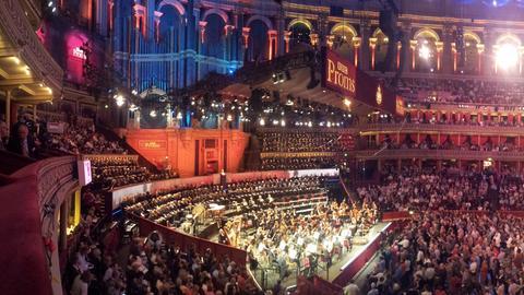 Blick in die Royal Albert Hall während der Proms