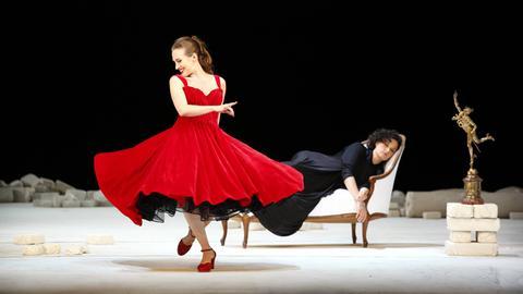 """Aufführung von """"Ariadne auf Naxos"""", Staatsoper Unter den Linden, Berlin, mit Musik von Richard Strauss"""