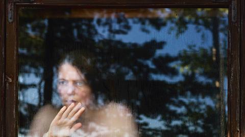 """""""Aussicht und Einsicht"""".Aino_Kannisto_Untitled_Sauna_Window"""