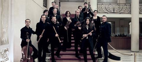 Dorothee Oberlinger und ihr Ensemble 1700