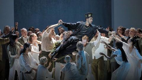 """Szenenfoto aus """"Alceste"""" an der Bayerischen Staatsoper"""