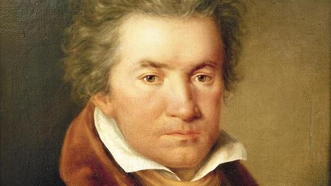 Beethoven im Jahr 1815, Detail aus einem Gemälde von Willibrord Joseph Mähler