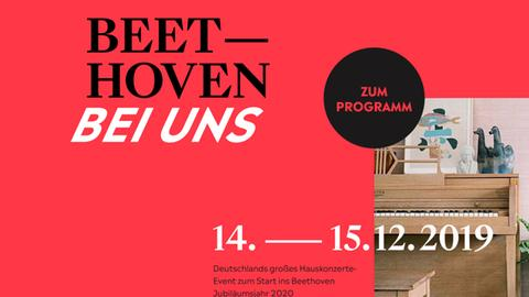 Beethoven bei uns Plakat