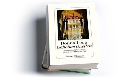 Cover Donna Leon: Geheime Quellen. Commissario Brunettis neunundzwanzigster Fall