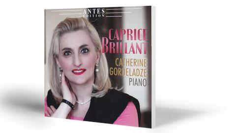 Cover Caprice Brillant Ausf.: Catherine Gordeladze, Klavier