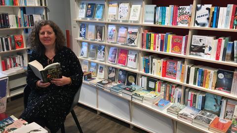 Marion Schulze, aus der Buchhandlung Bücher im Bogen in Frankfurt
