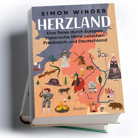 Buchtipp Mockup Simon Winder: Herzland