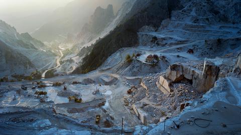 Steinbruch von Carrara