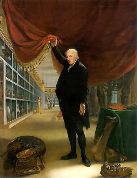 Charles Wilson Peale: The Artist in his Museum