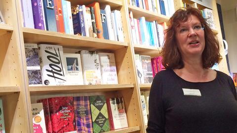 """Claudia Kleene von der """"Bücherinsel"""" in Dieburg"""