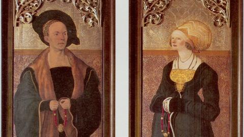 Claus Stalburg der Reiche und seine Frau Margarethe vom Rhein