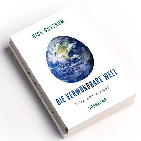 Nick Bostrom: Die verwundbare Welt. Eine Hypothese, Suhrkamp Verlag 2020, Preis: 12 Euro