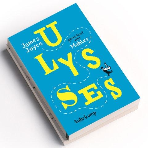 Nicolas Mahler: Ulysses, Suhrkamp Verlag 2020, Preis: 24 Euro