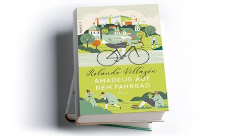 Rolando Villazón: Amadeus auf dem Fahrrad, Rowohlt Buchverlag 2020, Preis: 26 Euro