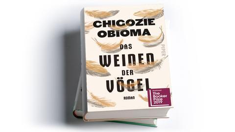 Cover Chigozie Obioma: Das Weinen der Vögel, Piper Verlag 2019 ,Preis: 24 Euro