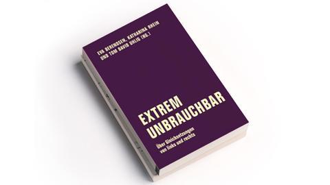 Cover  Tom Uhlig, Katharina Rhein,  Eva Berendsen: Extrem unbrauchbar. Verbrecher Verlag, Preis: 19 Euro