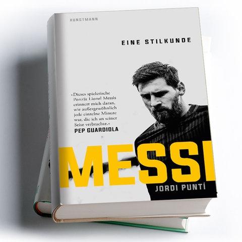 Cover Jordi Punti: Messi. Eine Stilkunde