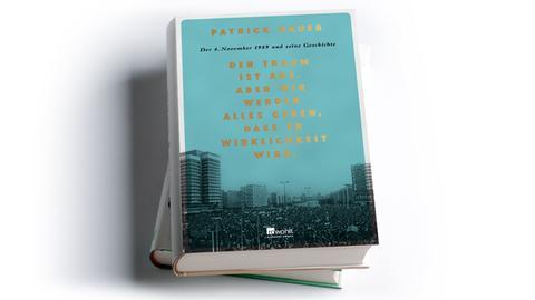 Cover Patrick Bauer: Der Traum ist aus. Aber wir werden alles geben, dass er Wirklichkeit wird,  Rowohlt Buchverlag, Preis: 20 Euro