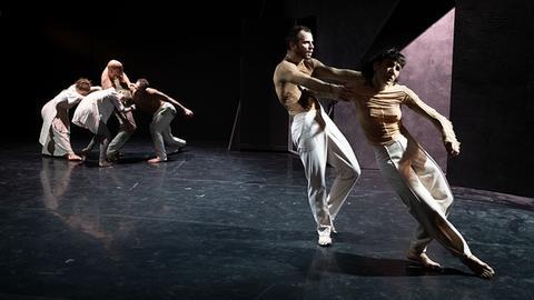 Jagen,  Tanzabend von Olga Labovkina  an der taT-studiobühne Gießen