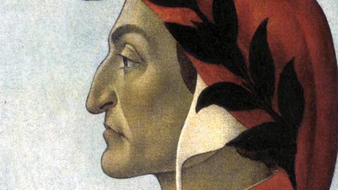 Dante Alighieri, fiktives Portrait von Sandro Botticelli, etwa 1495