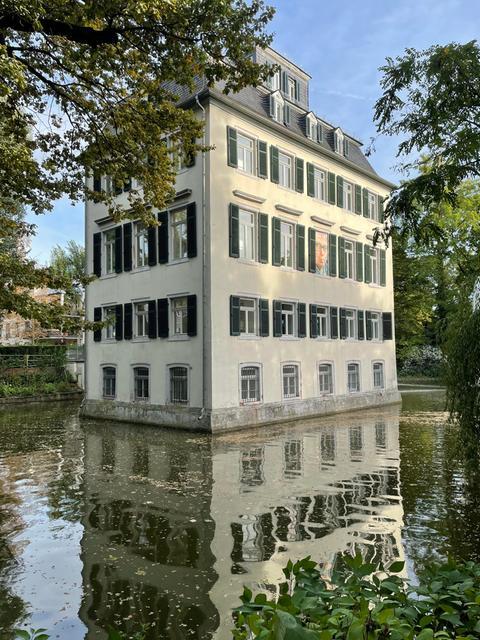 Das Holzhausenschlösschen in Frankfurt