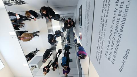 """Dauerausstellung """"about: documenta"""""""